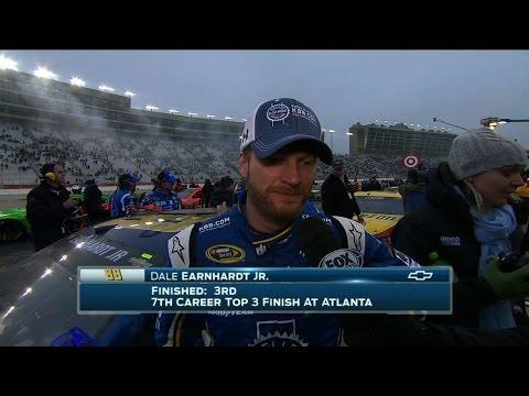 Dale Earnhardt Jr. Finishes Top 3 at Atlanta – 2015 NASCAR Sprint Cup