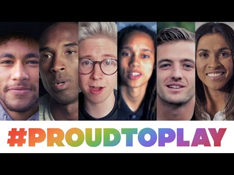 #ProudToPlay: Celebrating equality for all athletes