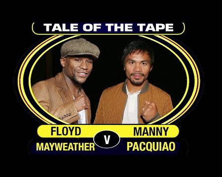 Floyd Mayweather V Manny Pacquiao | Ultimate Comparison 2015 | #MayweatherPacquiao