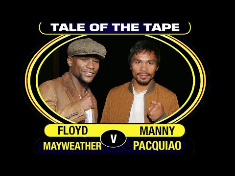 Floyd Mayweather V Manny Pacquiao | Ultimate Comparison 2015 | #MayweatherPacquiao