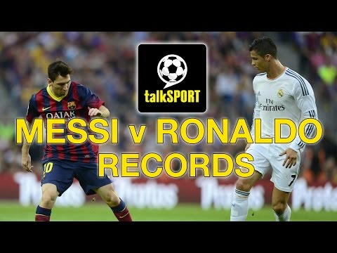 Messi v Ronaldo | RIPPING UP THE RECORD BOOKS!