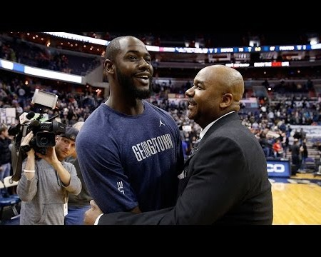 Georgetown's Tyler Adams starts on senior day after heart condition ended career